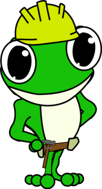 Construction Frog